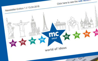 The new mc E-Newsletter is here